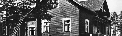 Nuorisoseurantalon kuva Marjatta Sepän arkistosta.
