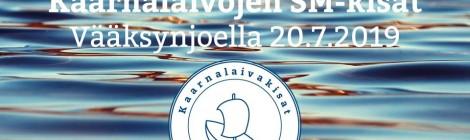 Kaarnalaivojen SM-kisat 20.7.2019
