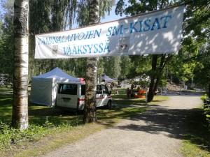 Perinteiset kaarnalaivojen SM-kilpailut Vääksynjoella 20.7.
